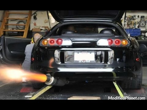 Supra Backfire And Burnout Compilation 2 Youtube