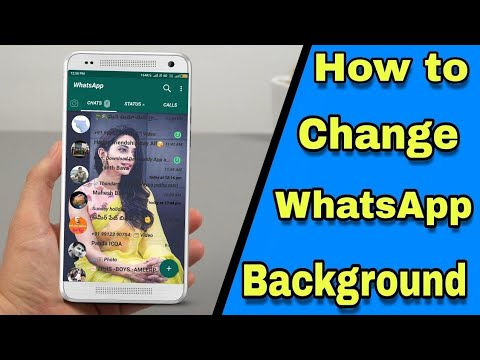Change WhatsApp Home Screen Wallpaper from YouTube · Duration:  3 minutes 1 seconds
