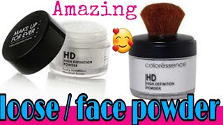 Coloressence HD high definition loose powder how to apply loose powder loose powder kese lagaye