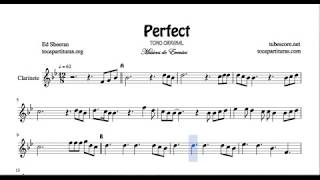 perfect-sheet-music-for-clarinet-original-tone