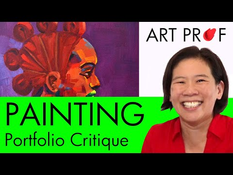 Art Critique: Figure Painting Portfolio / ART PROF