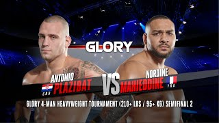 GLORY 76: Antonio Plazibat v Nordine Mahieddine