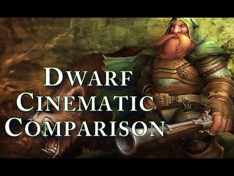 World Of Warcraft - Vanilla and Cataclysm Dwarf Starting Zone Cinematic Comparison