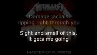 Metallica Damage Inc Lyrics HD