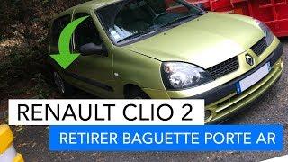 Renault Clio 2 - Comment retirer une baguette de porte arrière facilement !