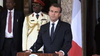 Lac Tchad: Macron veut poursuivre la lutte contre le terrorisme