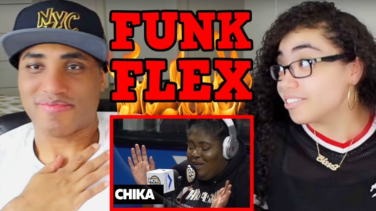CHIKA FREESTYLE ON FUNK FLEX REACTION   #FREESTYLE098   MY DAD REACTS