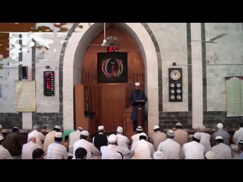 Shukr Guzari, Khutba, by Engineer Wahaj us Siraj (Juma 06-05-16) HD