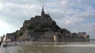 Приливы и отливы в Мон Сен Мишель