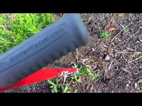 Weasel Weed Popper Review- Commercial Use- Weed Removal Tool