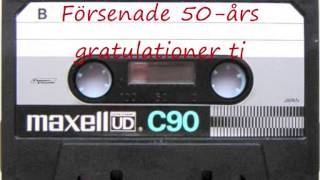 Grattis Britt Mari + Frasse 50 år ö  B Zeniliuz