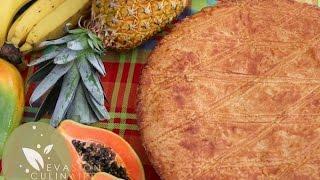 Recette de galette des rois créole (Kreyol) à la goyave, une galett...