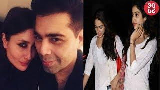 Kareena Kapoor's Next With Karan   Jhanvi-Sara Colour Coordinated At The Airport
