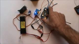видео Регуляторы хода для бесколлекторных моторов