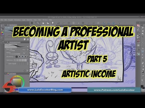 Becoming a Pro Artist Part 05 Artistic Income