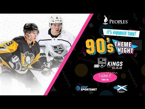 NHL 18 PS4. REGULAR SEASON 2017-2018: Los Angeles KINGS VS Pittsburgh PENGUINS. 02.15.2018. (NBCSN)!