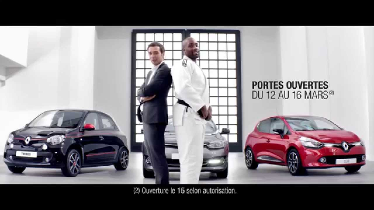 renault la french touch avec teddy riner youtube. Black Bedroom Furniture Sets. Home Design Ideas