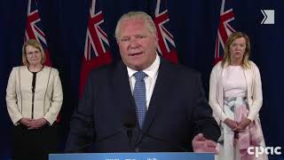 Premier Ford comments on video of woman who refused to wear a mask at the hospital | COVID-19