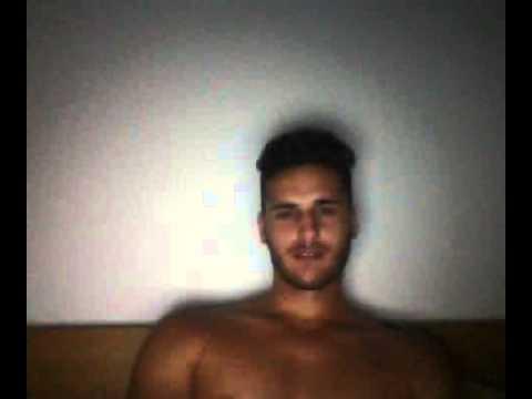 Men on web cam