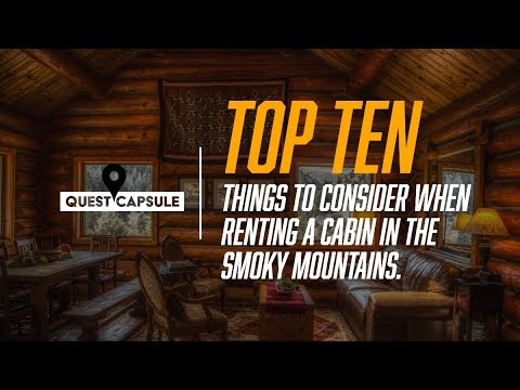 Cabin Rentals In Gatlinburg Pigeon Forge, Smoky Mountains - Top 10 Tips