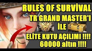 RULES OF SURVİVAL BEDAVA ELİTE ELBİSE NASIL ALINIR VE ELİTE KUTU AÇILIMI !!!!