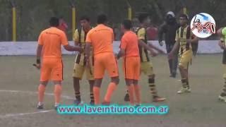 Liga Andalgalense de Futbol - Aconquija vs San lorenzo (Anual 2016 - 3º Fecha Vuelta)