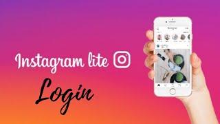 Instagram Lite Login: How to Login Instagram Lite 2021? screenshot 3