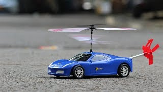 how to make a rc flying car