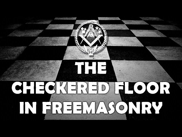 The Checkered Flooring Freemason Information