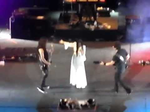 Tarja - Bless The Child/Die Alive/Until My Last Breath (Teatro de la Ciudad, Mexico 2012)