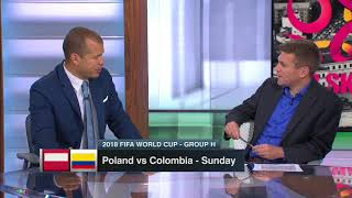 Poland vs Columbia WC2018 Preview COURTESY OF ESPN