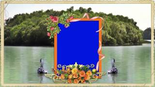 Video Frame Wedding Background-Animated Background!