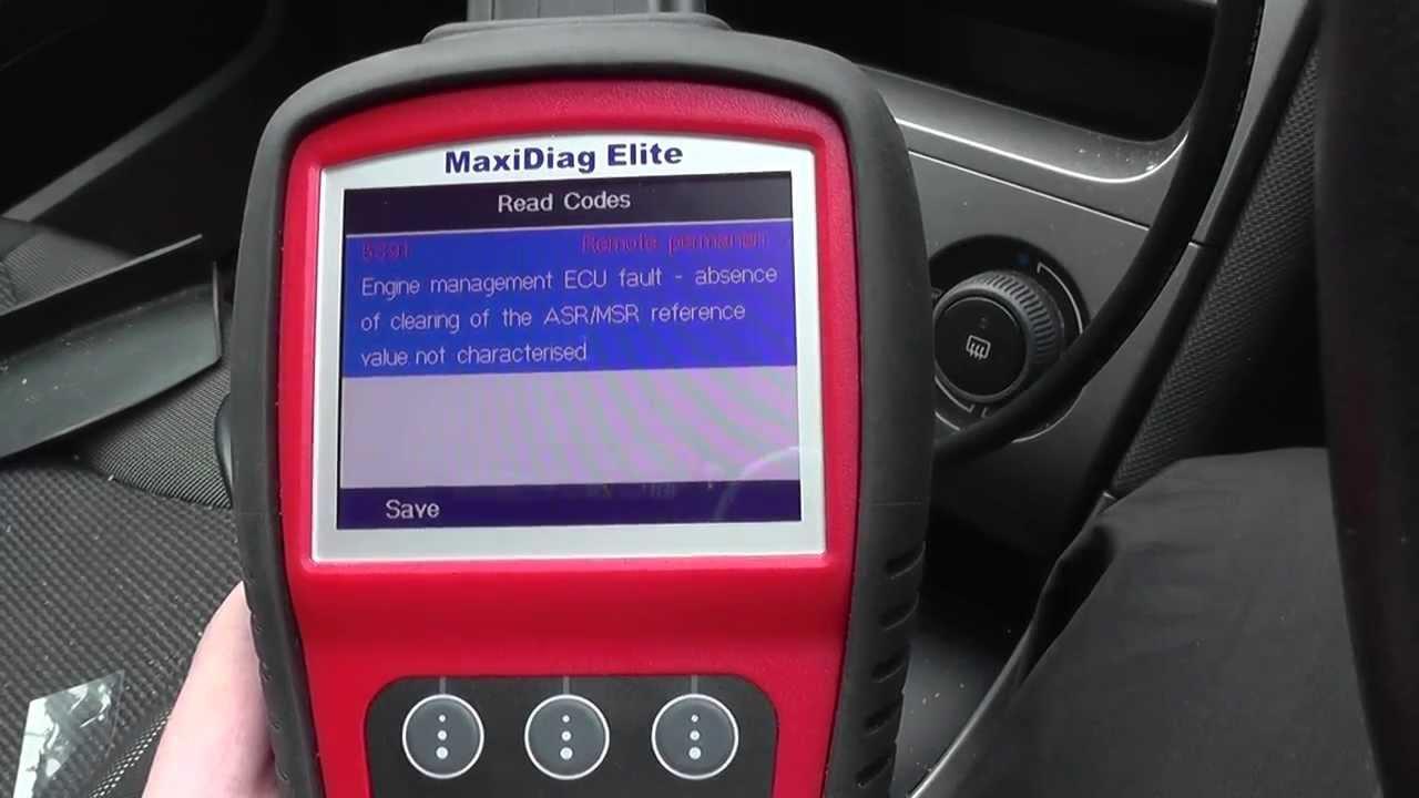 Peugeot Esp Abs Fault Warning Light Code P5391 Youtube