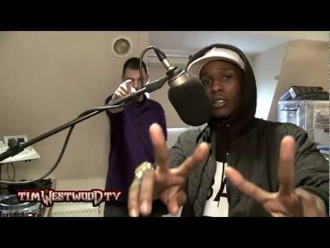 "A$AP Rocky ""Tim Westwood"" Freestyle!"