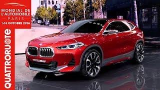 La Nuova BMW X2 Concept Al Salone Di Parigi 2016 | Quattroruote