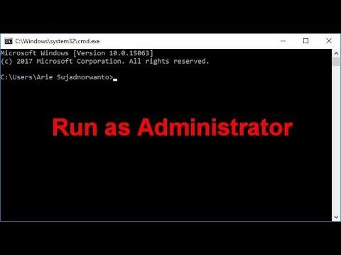 Cara Menjalankan CMD di Windows sebagai Administrator
