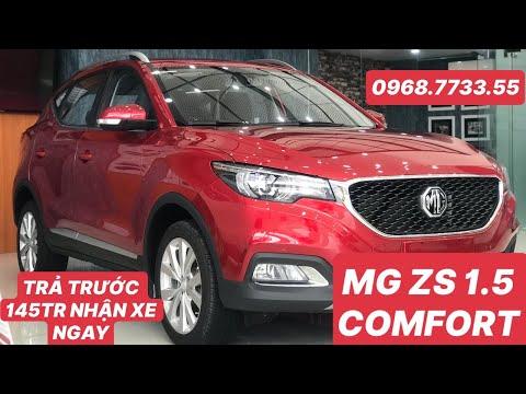 MG ZS 1.5 Comfort Đánh giá và so sánh rất chi tiết với bản Luxury, có gì giống nhau?☎️0968.7733.55
