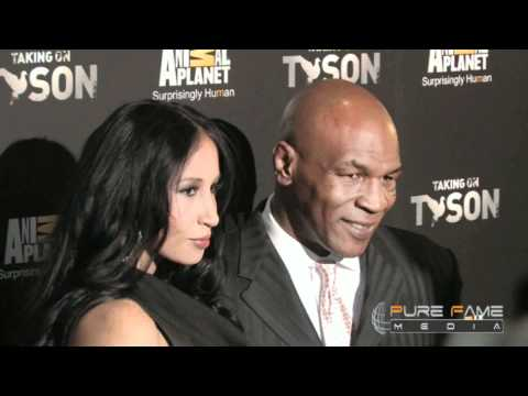 Mike Tyson On The Red Carpet