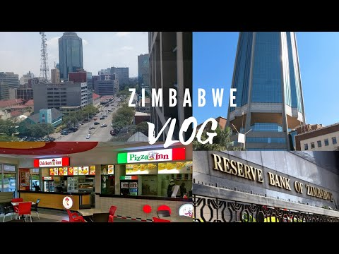 Living in Harare Zimbabwe, Drive around Harare, Taking a Wal