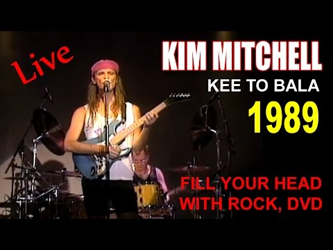 KIM MITCHELL - KEE TO BALA 1989 - Live DVD (Full) 480p