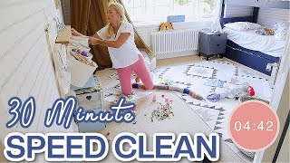 HOW I CLEAN M¥ HOUSE FAST! 30 Minute Speed Cleaning Routine