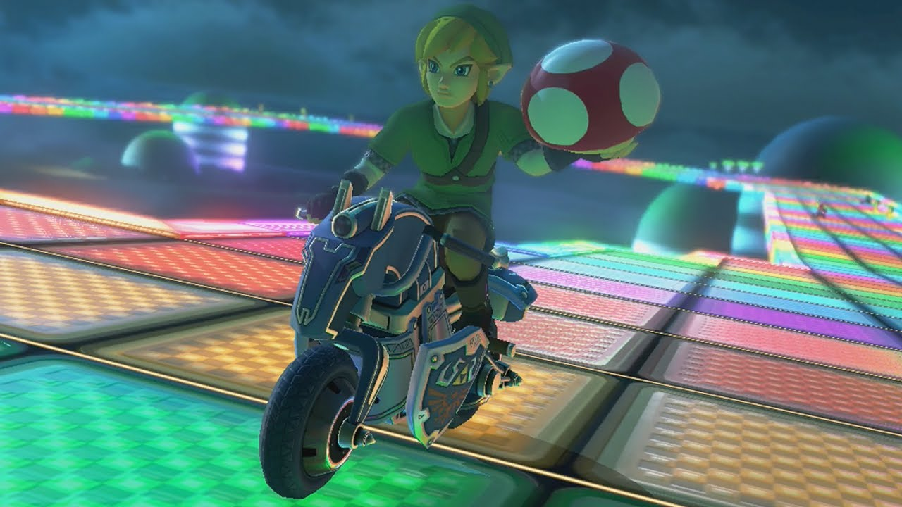 mario kart 8 grand prix 150cc triforce cup youtube