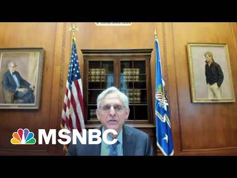 Merrick Garland Testifies Before Congress For First Time As AG | Hallie Jackson | MSNBC