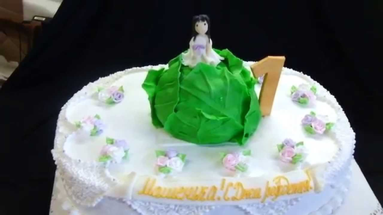торт капуста из мастики пошаговый рецепт