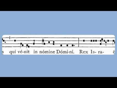 Hosanna Filio David (Palm Sunday, Antiphon)