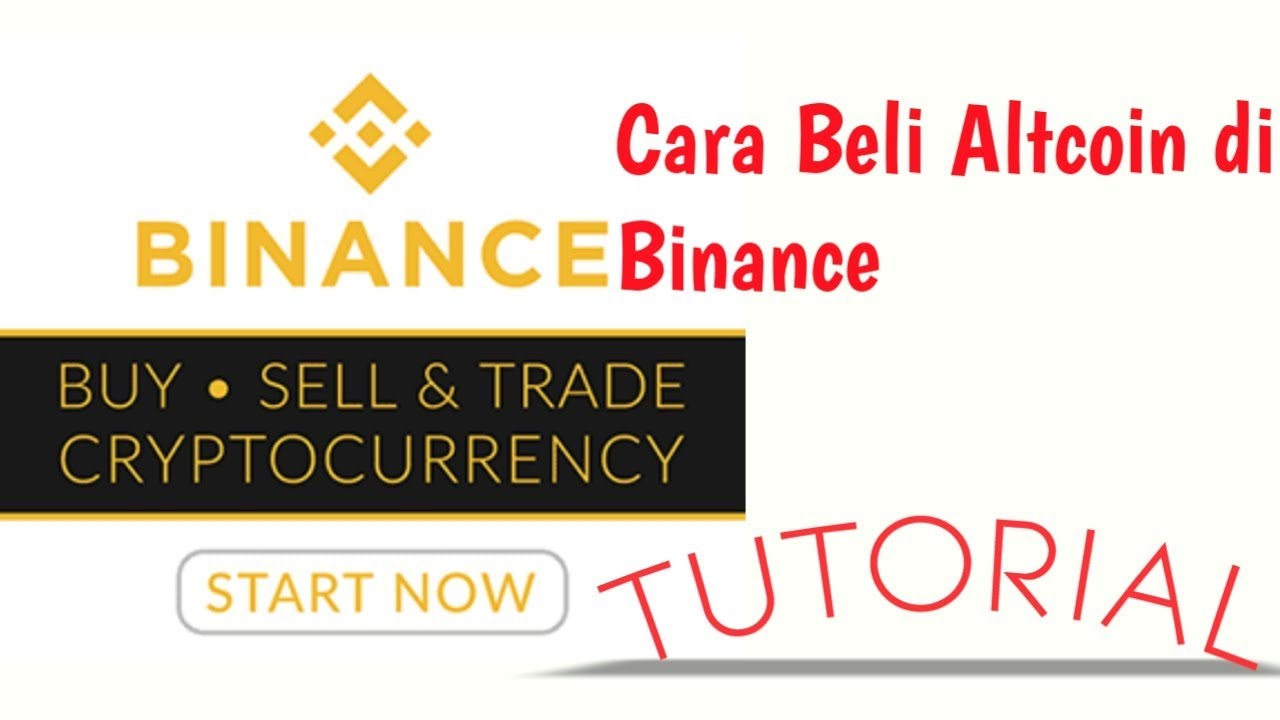 Tutorial Binance Exchange: Jadi Ahli Trading Cryptocurrency