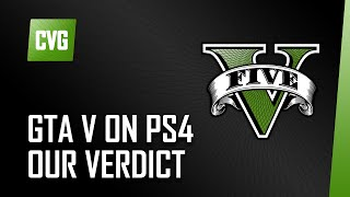 GTA V o'clock: GTA 5 on PS4 and Xbox One our verdict - Episode 101