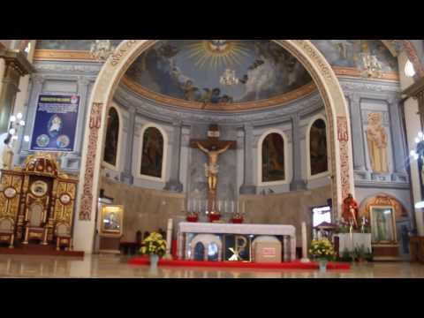 Interior of the Saint Ferdinand Cathedral in Lucena City, Quezon