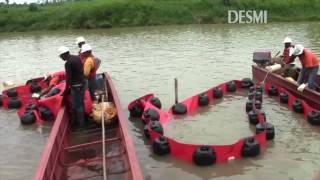 DESMI Equipment in operation - from real oil spills in fast current rivers