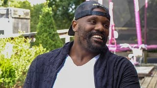 Dereck Chisora EXCLUSIVE - Like you've never seen him before at home